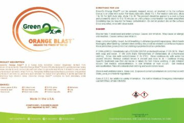 GreenOx Orange Blast Cleaner & Degreaser