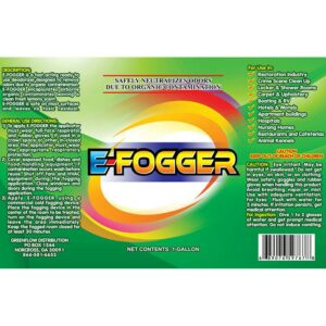 E-Fogger Label