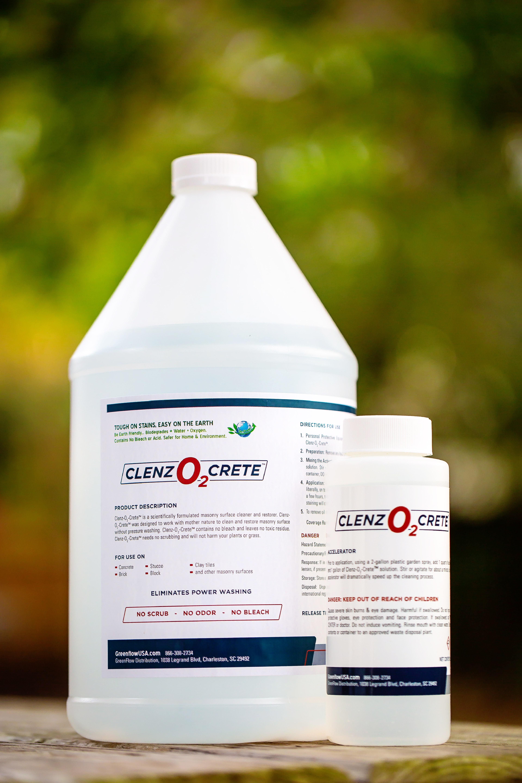 Clenz-O2-Crete™ Concrete Cleaner and Restorer