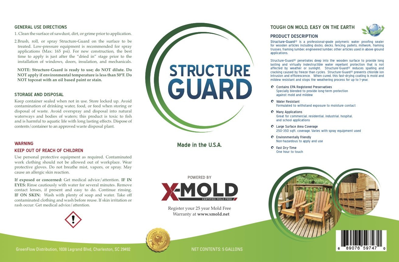 Structure Guard 5-Gallon Label