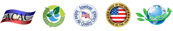 ACAC - Eco-Friendly - American Indoor Air Quality Council - Made in the USA - Go Green